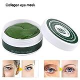 Máscara de colágeno para mujer hidratante, hidratante, eliminación de círculos oscuros