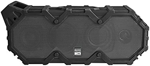 Altec Lansing LifeJacket XL IMW789 - Bluetooth Speaker, Wireless, Waterproof, Floatable, Portable, Louder Volume, Strong Bass, Rich Stereo System, Microphone, 100 ft Wireless Range, IP67, Black & Gray