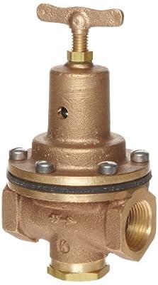 """Kingston 159A Series Brass Air Pressure Regulator Valve, 3/4"""" NPT Female by Kingston Valves"""