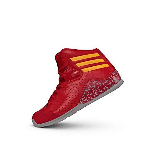 adidas NXT LVL SPD IV NBA K, Zapatillas de Baloncesto Niños, Rojo (Rojsld/Orosld/Onisua), 38