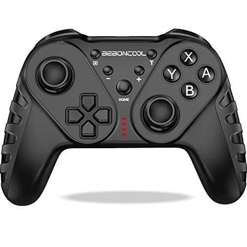 BEBONCOOL Controller für Nintendo Switch, Drahtloser Switch Controller, Präzise Bewegungssteuerung, Dual Motors Vibration, Turbo Funktion, Controller Switch Zubehörsets für Nintendo Switch Controller