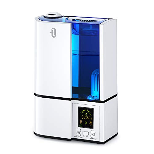 TaoTronics Humidifiers, 4L Cool Mist Ultrasonic...