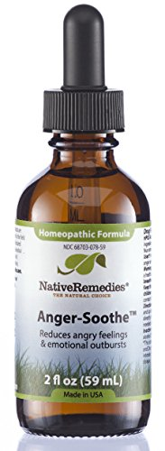 Native Remedies Anger-Soothe, 59 ml Bottle