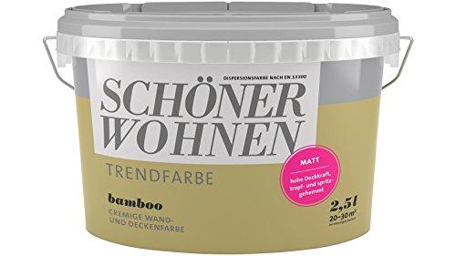 2,5 Liter Schöner Wohnen Trendfarbe matt BAMBOO