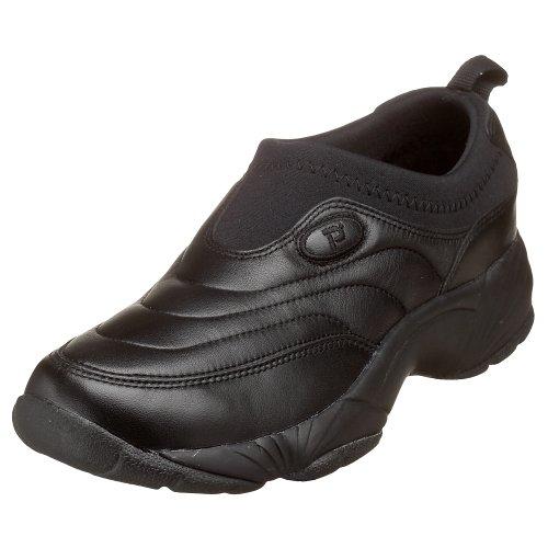 Propet Men's M3851 Wash N Wear Slip-On II, Black, 8 Medium