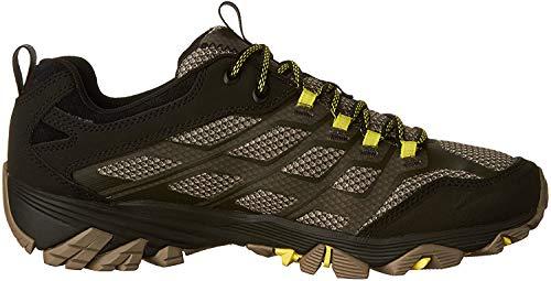 Merrell Moab Fst, Zapatillas de Senderismo Hombre, Verde (Olive Black), 43 EU