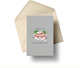 Have Yourself an Un-pho-gettable Birthday! - Punny and Cute Birthday Cards - Perfect for all Pun and Food Lovers - Gift Ca...
