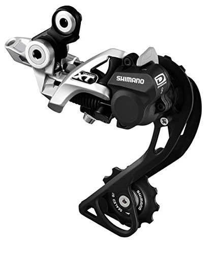 Shimano Deore XT RDM786GSS - Cambio 10 Velocidades Shadow Plus Gs Direct, color plata