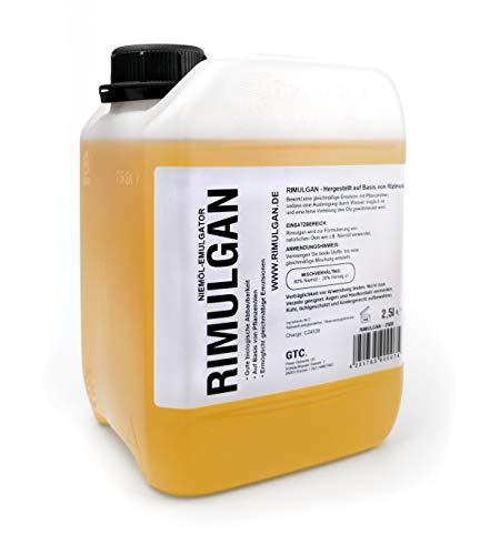 RIMULGAN 90007 - Emulgator auf Basis von Rizinusöl (biologisch abbaubar) 2500ml