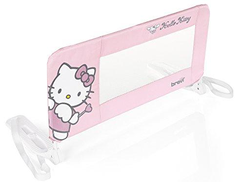 Brevi Barrière de Lit Sponda letto - Hello Kitty 90 cm rosa