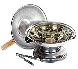 Kuber Industries Aluminium Multi Purpose Oven, Gas Tandoor,Barbeque Griller/Bati/Pizza Maker Set of 1 Pc -CTKTC6032