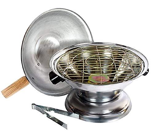 Kuber Industries Aluminium Multi Purpose Oven, Gas Tandoor, Barbeque Griller/ Bati / Pizza Maker Set Of 1 Pc -CTKTC6032