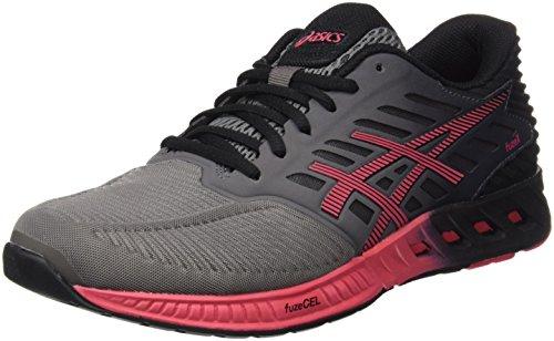 Asics Fuzex T689N, Women's running Shoes, Gris (Titanium / Azalea / Black), 4.5 UK (37.5 EU)