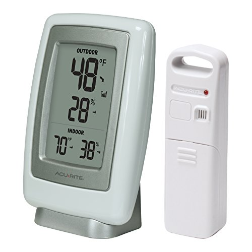 Product Image 6: AcuRite 00611 Indoor Outdoor Thermometer with Wireless Temperature Sensor & Hygrometer