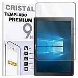 REY Protector de Pantalla para Samsung Galaxy TABPRO S - S WiFi - S 4G - Book 12 WiFi, Cristal Vidrio Templado Premium, Táblet