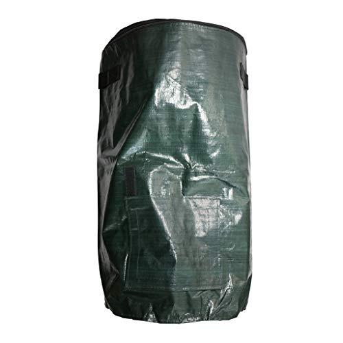 Yard Waste Bins - 60l Zelfgemaakte Tuin Organische Ferment Afval Afvoer Compost Bag - Bins Wheels Yard Waste Yard Waste Bins Compost Plastic Tassen Keuken Afvoer Airi Tuin Bier Ferment Backpac