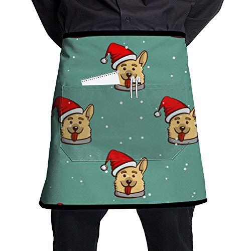 regalo para hombre o novio cocina estilo sexi fiesta Vectri delantal decorativo de barbacoa delantal de Navidad