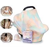 Manta de lactancia NatureBond | La manta de algodón más transpirable y segura | Multiusos: Dosel...