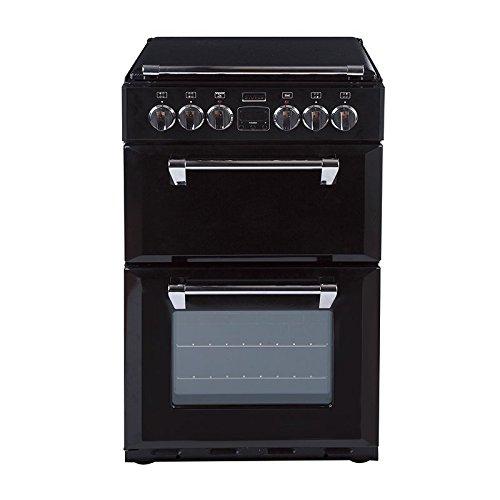 Stoves Richmond Mini Range 550E–Cuisinière (autonome, électrique, gaz, noir, rotatif, face)
