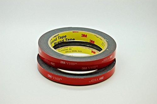 MMM 3M VHB 5952 Klebeband für Automobil, BAU, Metallbearbeitung, Schwerlast (10mm+20mm)