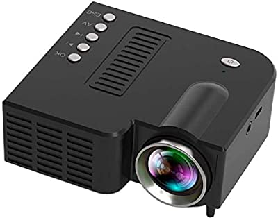 Yealsha Mini Portable LED Projector 1080P Multimedia Home Cinema Theater Video Projectors by dlesxin