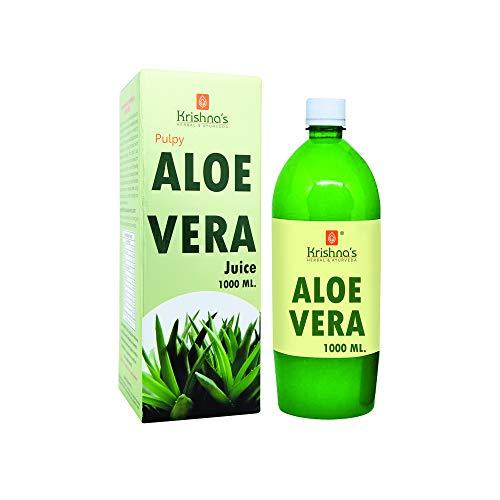 Krishna's Herbal & Ayurveda Aloe Vera Juice – 1 l (Pack of 1)