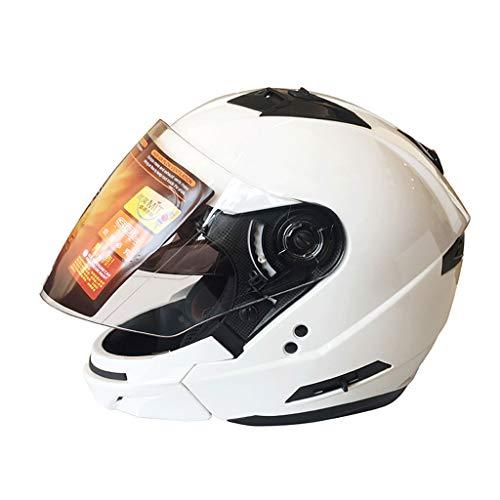 Casque moto hommes et femmes double casque intégral (Couleur : B-M(55-57cm))