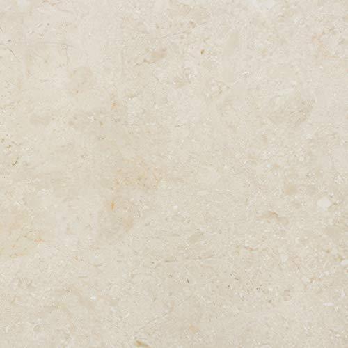 PrintYourHome Fliesenaufkleber für Küche und Bad   Dekor Marmor Beige Natur   Fliesenfolie für 15x15cm Fliesen   4 Stück   Klebefliesen günstig in 1A Qualität