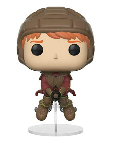 Funko POP! Harry Potter: Ron Weasley montado en una escoba