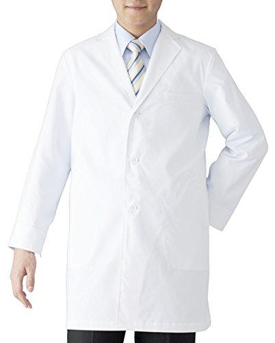 [フォーク] ドクターコート 診察衣 メンズ 男性用 白衣 医療 1523ES ホワイト 日本 BL (日本サイズ3L相当)
