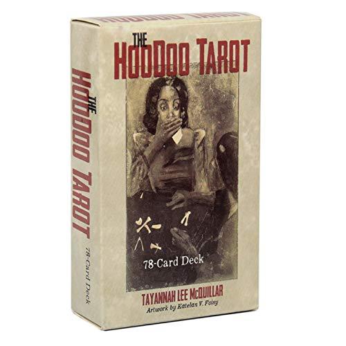 GUIMEI Die Hoodoo Tarot Tradition 78-Karten-Deck und E-Guidebook für Karten Oracle Muse Waite Brettspiel Divination Angel Tarot Karten V.