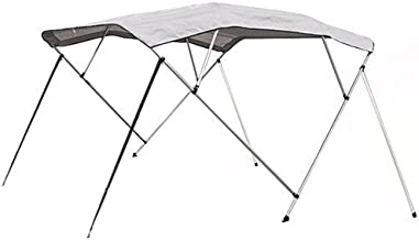 Best Choice Products SKY1407 600D UV 4 Bow Bimini Waterproof Top Boat Cover (New 91