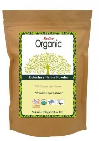 RADICO - Polvo puro de Cassia Obovata - Vegetal Neutral - Tratamiento 100% Vegetal para Tonos Naturales - 100 gr