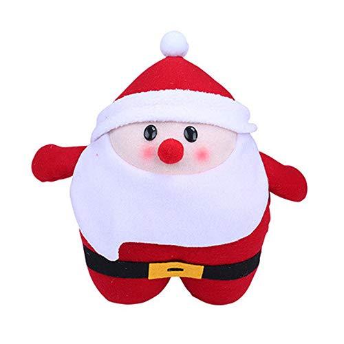 ysister Muñeca Linda de Papá Noel Mano Caliente Almohada de Peluche de Juguete muñeca muñeca muñeca Papá Noel...