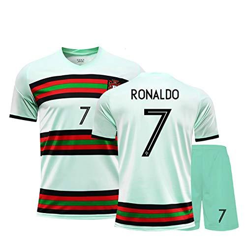 YANDDN 20-21 Portugal Trikot Nr. 7 Ronaldo Fußballuniform Custom Match Trainingsanzug Männer und Frauen Erwachsene Kinder Custom-7blue-28