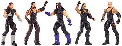 WWE Wrestling Network Spotlight Undertaker Action Figure 5-Pack