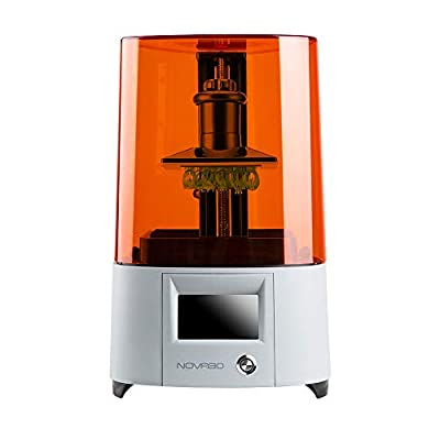 "NOVA3D Elfin LCD 3D Printer with 4.3"" Smart Touch Screen, UV Photocuring 3D Resin Printer Off-Line Print & WiFi, 5.2""x 2.91""x 5.9"" Print Size"