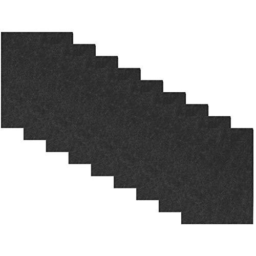 Almohadillas de fieltro para sillas Almohadillas gruesas para muebles de tejido profundo Almohadillas antiarañazos Azulejos Pisos de madera Laminados