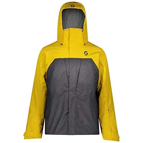 Scott Skijacke Herren Ultimate Dryo 10 Corn Yellow/Dark Grey Melange XL