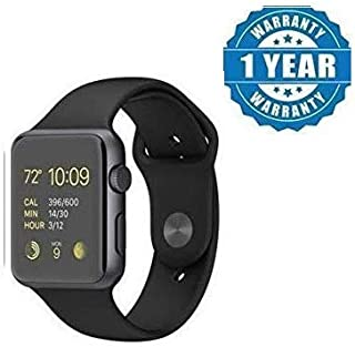 Robiless A1 Bluetooth Wireless Smart Watch with Camera and Sim Card Support with Apps Like Whatsapp and Facebook for All 3G & 4G Android/iOS Smartphones Black