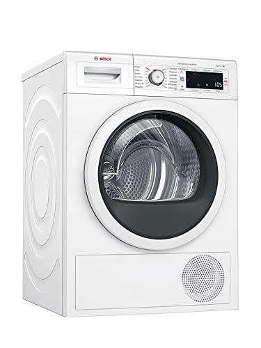 Bosch WTW87541 Serie 8 Wärmepumpen-Trockner / A++ / 259 kWh/Jahr / 9 kg / weiß mit Glastür / AutoDry / SelfCleaning Condenser / SensitiveDrying System