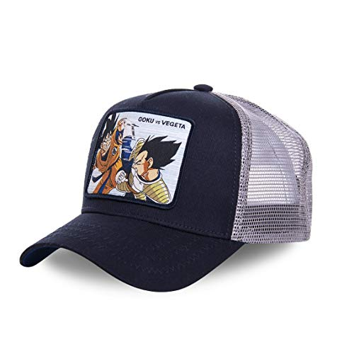 Capslab Goku Vs Vegeta Trucker Cap Dragon Ball Z