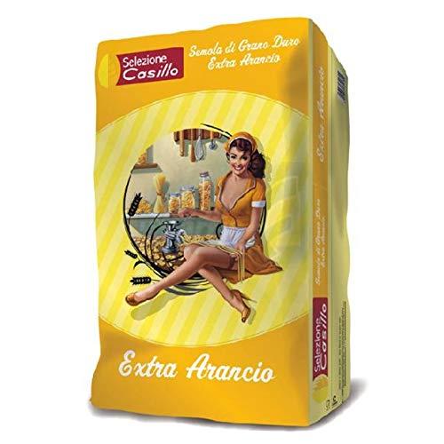 Semola di grano duro Arancio - Extra 25 kg - Selezione Casillo