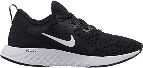 Nike Herren Rebel React (Gs) Sneakers, Schwarz (Black/White 001), 40 EU