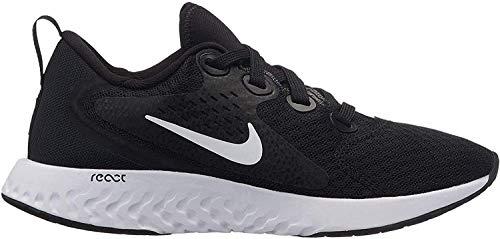 Nike Kids' Grade School Legend React Running Shoes (GS) (7 Big Kid, Black)