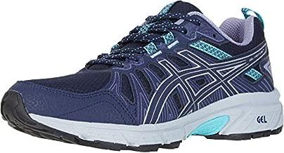 ASICS Women's Gel-Venture 7 Running Shoes, 9M, Black/Silver