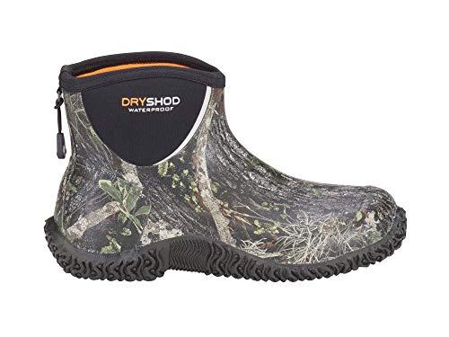 DRYSHOD Men's Legend Camp Ankle Boot, Camo/Black, 13