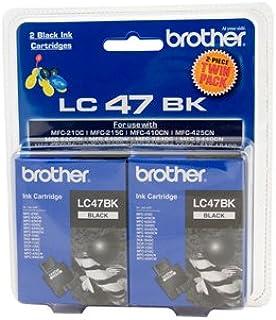 Brother LC47BK2PK Ink Cartridge Black