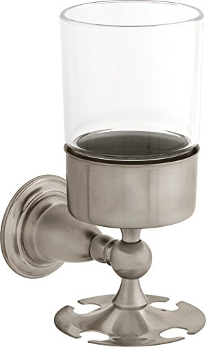 Delta Faucet 51-7JN0-A9FI 75056-Ss Victorian Toothbrush/Tumbler Holder, Stainless, 3.25 x 5.00 x 0.09 inches, Multicolor