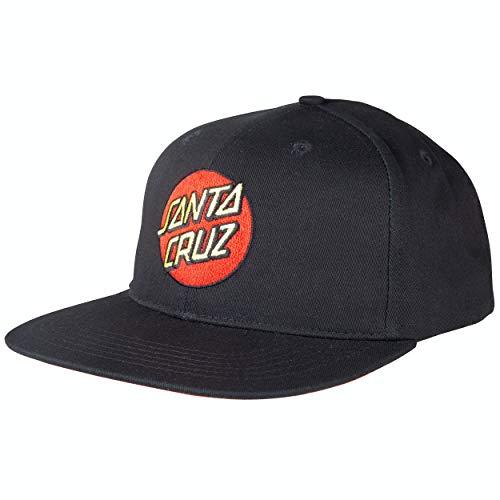 Santa Cruz Classic Dot Snapback Gorra - Negro